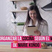 Marie Kondo: método para organizar tu cocina