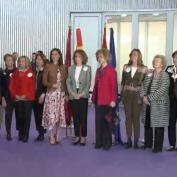 La Reina Letizia y doña Sofía visitan el Rastrillo Nuevo Futuro