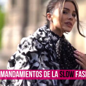 Moda Sostenible: los mandamientos de la slow fashion