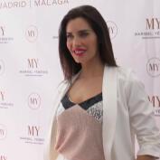 Pilar Rubio visita el Museo del Traje