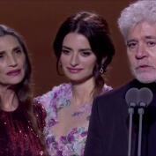 Pedro Almodóvar gana el premio a mejor dirección en los premios Goya 2020 por