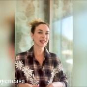 Marta Hazas con #mujerhoyencasa