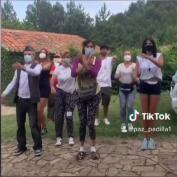 Paz Padilla demuestra sus dotes como TikToker