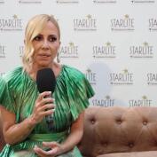 Marta Sánchez emocionada en su vuelta a los escenarios