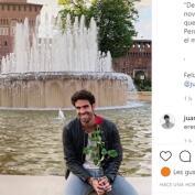 La romántica felicitación de Andrea Duro a Juan Betancourt